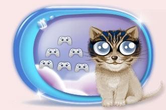 Les mini jeux de chats